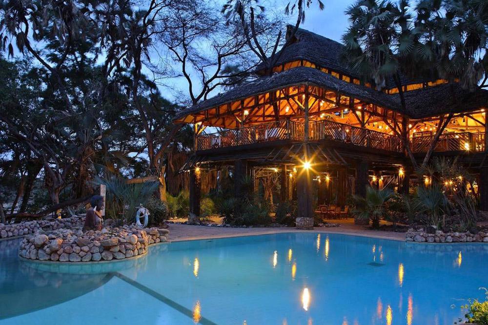 Sarova Shaba Safari Lodge