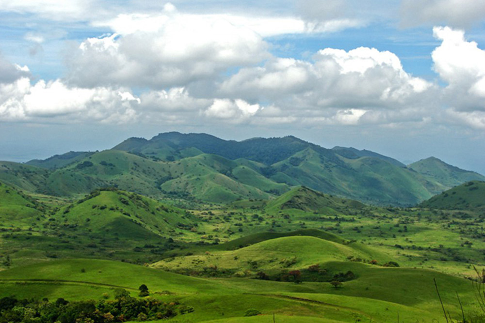 The Chyulu Hills National Park