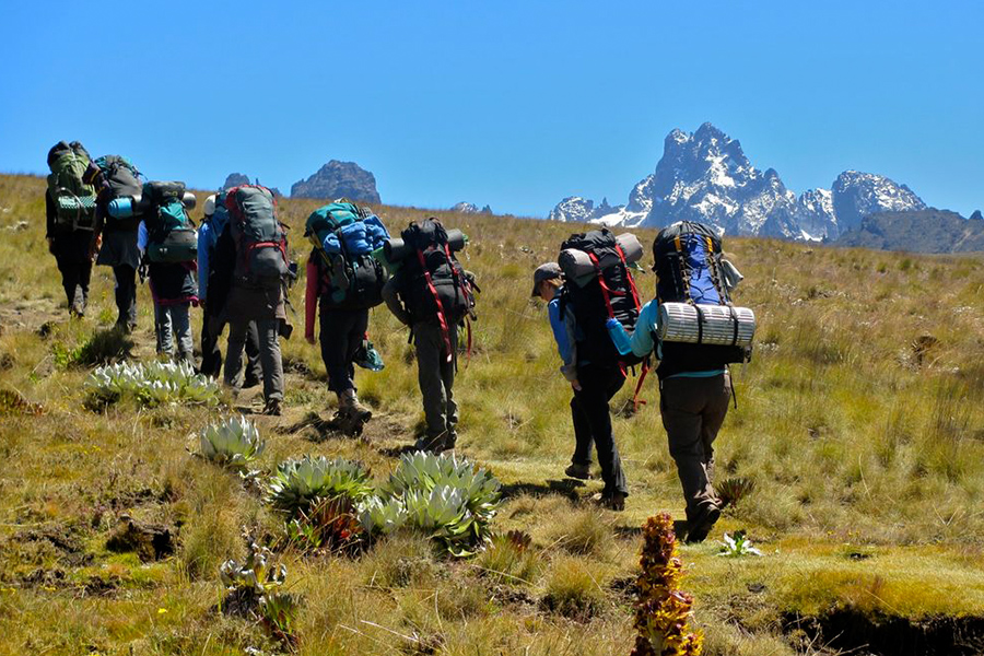 4 Days Mt Kenya Trekking Sirimon Route