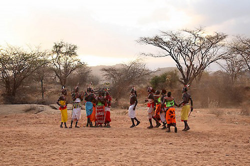 Day 2: Tsavo West-Amboseli: