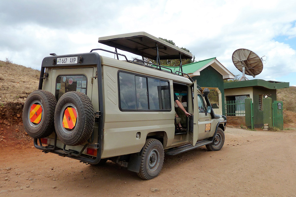 Day 03; Meru National Park - Nairobi.